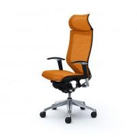 Эргономичное кресло OKAMURA CP polished-mech-ORANGE