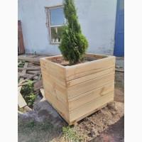 Продам вазоны деревянные