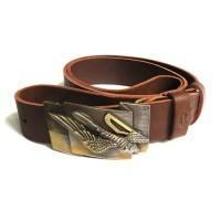 Авторские ремни-пряжки из натуральной кожи клямра Вільний птах