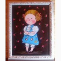 Картина маслом Алиса. Чудесная картина на подарок