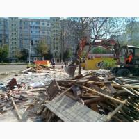 Уборка участка от мусора деревьев Киев
