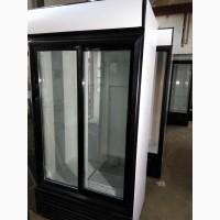 Доставим бесплатно! Холодильный шкаф бу витрина двухдверный. Гарантия