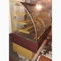 Кондитерская холодильная витрина бу Дакота Технохолод длинна 1.4 метра