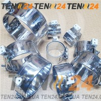 Кольцевые нагреватели металлические для экструдеров и ТПА под заказ от производителя ТЭН24