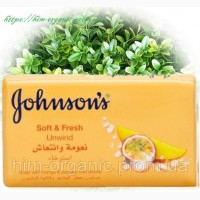 Johnson#039;s мыло SoftFresh Манго-маракуйя, 125 г