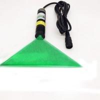 Лазер линия, лазерный указатель пропила 100мВт - зеленый (лазер для станка)