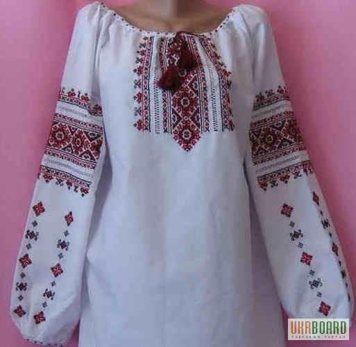 Рубашка вышиванка своими руками