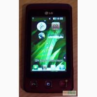 Продам телефон LG KP500 бу в отличном состоянии. Сенсорный экран