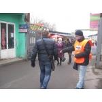 Раздача листовок, Донецк