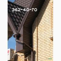 Свес крыши: монтаж и ремонт. Подшивка свеса крыши (подветровки) вагонкой, софитом. Киев