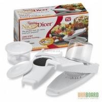 Овощерезка Nicer Dicer Deluxe / Найсер Дайсер Делюкс с 3 насадками