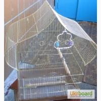 Срочно продам!!! Клетки для попугаев и певчих птиц!