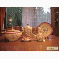 Немецкий форфоровый новый в упаковке чайно - столовый сервиз на 12 персон Fortuna