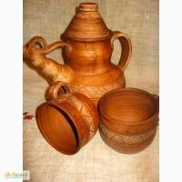 Чайники - заварники из глины для чая