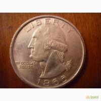 1 доллар 1865