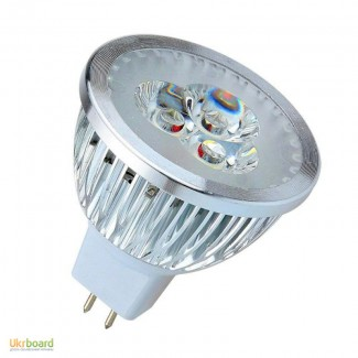 Светодиодная лампа LED, MR16 3x3W 12V 9W, 12 вольт 9Вт