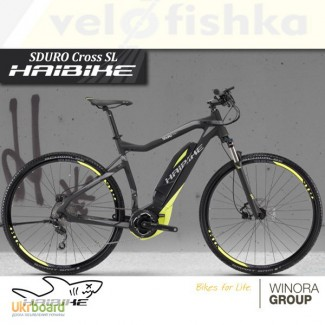 Электровелосипеды Haibike. Магазин velofishka - Киев