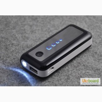 Внешний аккумулятор Power Bank 5600мАч