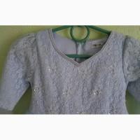 Нарядное платье на девочку 6-7лет