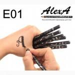 Оптом косметические карандаши для бровей, глаз и губ Alex-A