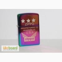 Зажигалки с фирменными эмблемами Zippo