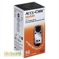 Продам тест-кассета для глюкометра акку-чек мобайл