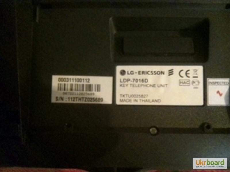 Фото 3. Системный телефон LG-Ericsson LDP-7016D