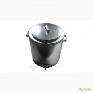 Воскотопка паровая 17 литров оцинкованная