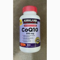 Коэнзим Q10 (300 мг/1капсула) Kirkland (США)