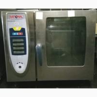 Пароконвектомат б/у Rational SCC 61G (ГАЗ) пароконвекционная печь