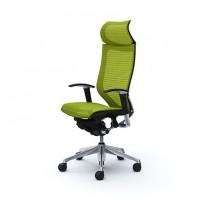 Эргономичное кресло OKAMURA CP polished-mech-Lime green
