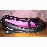 Кожаные мокасины Nike, 37-37, 5р