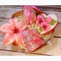 Подарочный набор Цветочно-сердечный