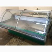Продам б/у холодильную витрину Джорджия длинной 2 метра (динамика)