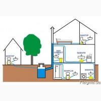 Монтаж систем каналізації/ Монтаж систем канализации
