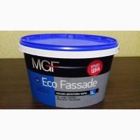 Краска фасадная MGF Eco Fassade (14 кг)в наличии остаток 1 ведро