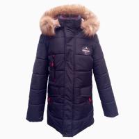 Зимняя куртка - парка для мальчиков, размеры 38 - 44, цвета разные- S9929