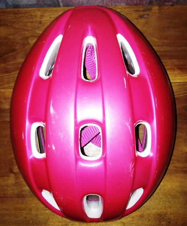 Фото 2. Велошлем для девочки, 54-58см