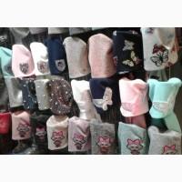 Весенние шапки и комплекты для девочек, объем головы 48 - 56 см