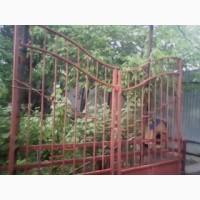 Сварочные работы изготовление ворот распашных откатных на консоли