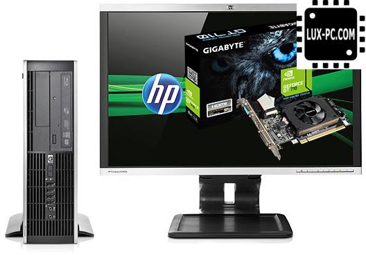 Фото 3. ИГРОВОЙ Комплект компьютера HP Compaq 6200 ELITE sff на i3-2100 и GeForce GT 710 + монитор