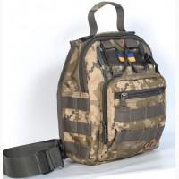 Тактическая сумка на плече - Пиксель ВСУ