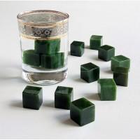 Нефритовые кубики для охлаждения виски