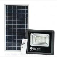 LED светильник 25W с солнечной панелью 12W, аккумулятор 5500mAh, пульт ДУ