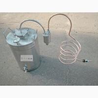 Дистиллятор «Классический» с одинарным или двойным сухопарником. Нержавеющая сталь + медь