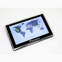"5"" GPS навигатор Pioneer 6002 - 8gb 128mb IGO+Navitel"