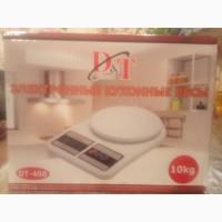 Весы кухонные DT-400 на 10 кг электронные кулинарные кухонные