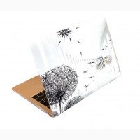 Уникальный дизайнерский чехол одуванчик dandelion на MacBook 13 2020-2008 Макбук picture