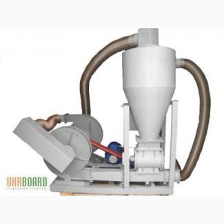 Пневмотранспортер зерна и сыпучих материалов, пневмопогрузчик, вакуумный пневмопогрузчик