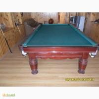 Продам б/у бильярдный стол